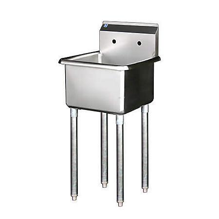 Prep Sink - Stainless Steel
