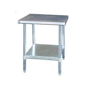 "BlueAir Stainless Steel Work Table - 24"" x 36"" x 34"""