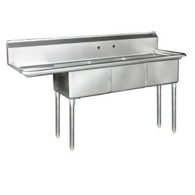 3 Compartment Sink - Stainless Steel - Variations