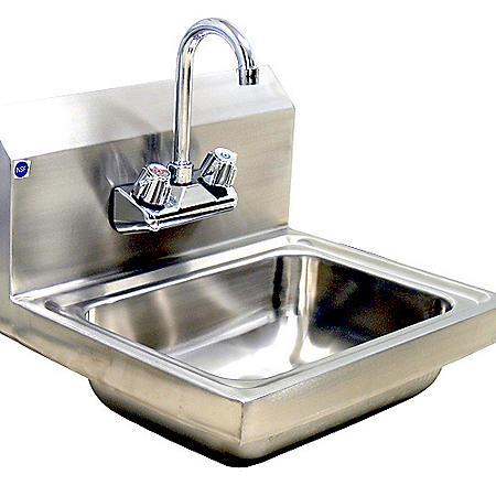 BlueAir Lead-Free Hand Sink, Stainless Steel