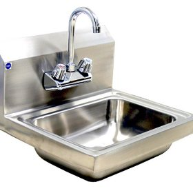 BlueAir Lead-Free Hand Sink, Stainless Steel