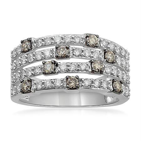 1.00 ct. t.w. Diamond Fashion Ring in 14k White Gold