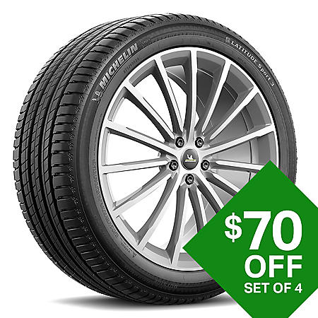 Michelin Latitude Sport 3 - 235/55R19 101V Tire