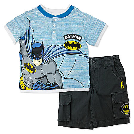 0d1b5c55 Boys' Batman 2-Piece Short Set - Sam's Club