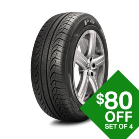 Pirelli P4 Four Seasons Plus - P205/55R16 91T Tire