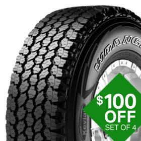 Goodyear Wrangler AT Adventure - 265/65R17 112T   Tire