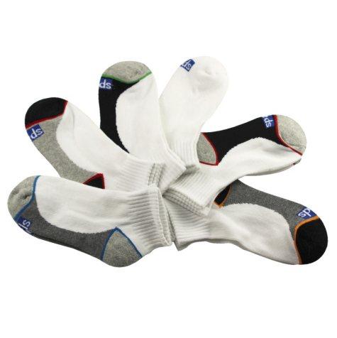 Keds 5 Pair + 1 Bonus Pack Socks - Stripe