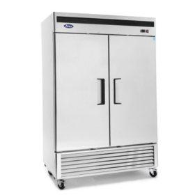 Atosa Upright 2-Door Reach-In Refrigerator
