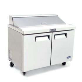 Atosa Sandwich 2-Door Prep Table