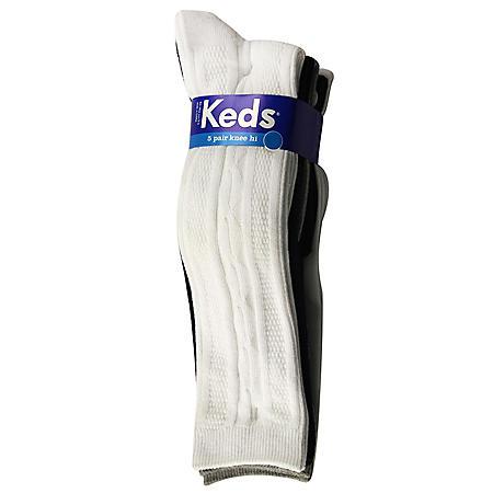 Keds Knee High Socks - 5 pk. - Sam's Club