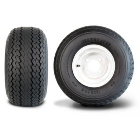 Greenball Greensaver 4PR - Golf Cart Tire & Assembly (Multiple Options)