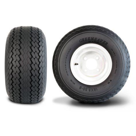 Greenball Greensaver 4PR - Golf Cart Tire & Assembly (Multiple Options)