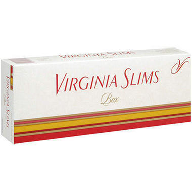 XX-Virginia Slims Superslims Menthol Gold - 200 ct.