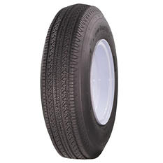 Greenball Tow-Master Trailer Tire & White Stamp Wheel (Multiple Options)