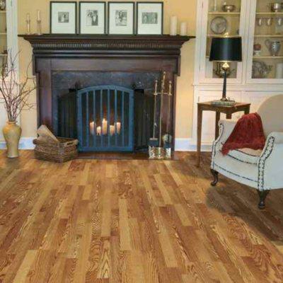 Amazing Traditional Living Golden Amber Oak Premium Laminate Flooring   Samu0027s Club