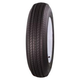 Greenball Tow-Master Trailer Tire & White Modular Wheel (Multiple Options)