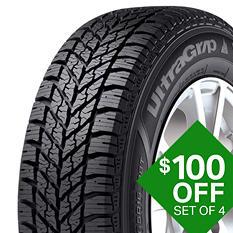 Goodyear Ultra Grip Winter - 195/70R14 91T Tire