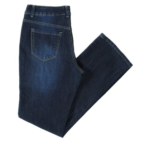 Straight Leg Denim Jean - Hudson