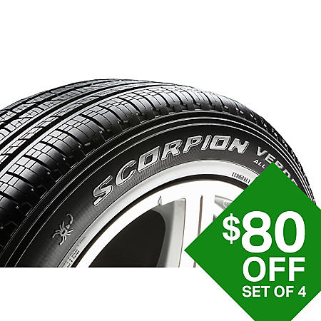 Pirelli Scorpion Verde A/S - 235/55R19 101V Tire