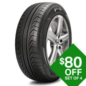 Pirelli P4 Four Seasons Plus - 195/65R15 P4FS+ 91H Tire