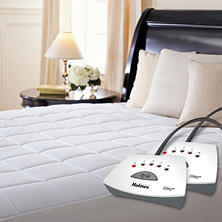 Holmes Quilted Heated Mattress Pad (Queen or King)