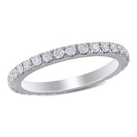 1 ct. t.w. Diamond Eternity Anniversary Ring in 14K White Gold