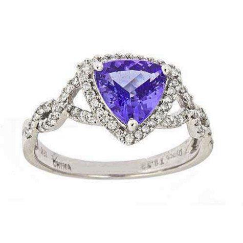 4.25 ct. Tanzanite Ring (G-H, SI)
