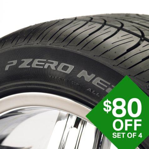 Pirelli PZero Nero A/S - 245/40R18/XL 97V Tire
