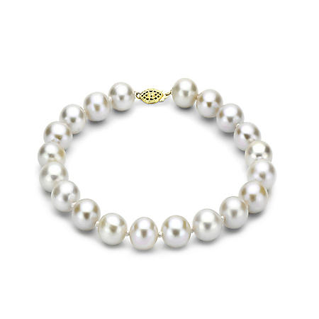 "7-8 mm Freshwater Pearl Bracelet, 7"" (Assorted Colors)"