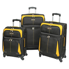 Geoffrey Beene 3-pc. Fashion Luggage Collection