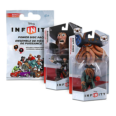 Disney Infinity 2 Figure Bundle with Bonus Power Disc Pack - Pirates of the Caribbean