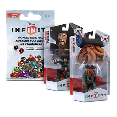 Disney Infinity 2 Figure Bundle with Bonus Power Disc Pack - Pirates of the Caribbean