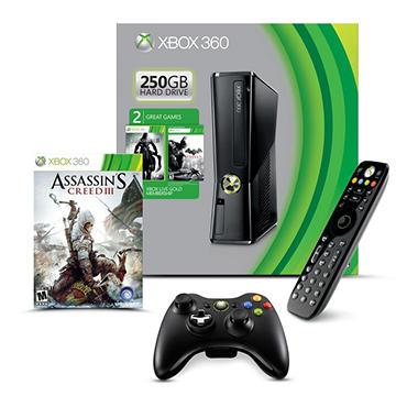 Microsoft Xbox 360 250GB Console Starter Bundle