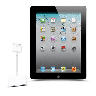 Apple iPad 2 w/ Digital AV Adapter