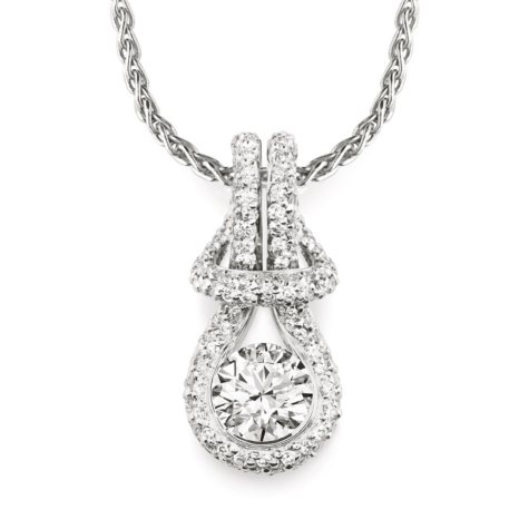 0.50 ct. t.w. Everlon™ Diamond Pavé Pendant (I, I1)