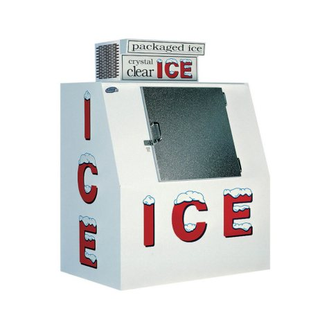 Leer Single-Door Outdoor Ice Merchandiser
