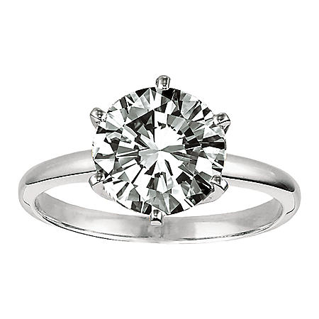 1.02 ct. Diamond Solitaire Ring in Platinum Setting (E, VVS2)