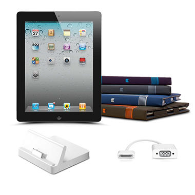 iPad 2 16GB Bundle w/ Choice of Accessory and Case