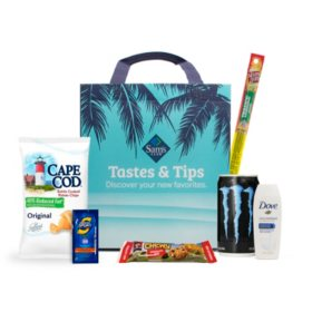 Tastes & Tips Sampler Bag