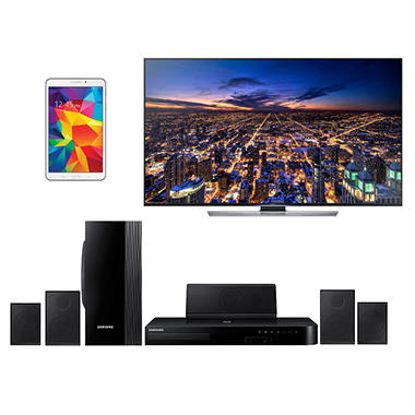 "Samsung Value Bundle: Samsung 60"" 4k UHD Smart TV w/ Choice of Optional Samsung Accessory"