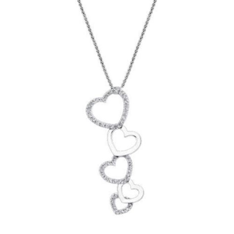 .62 ct. t.w. Diamond Heart Pendant (I, I1)