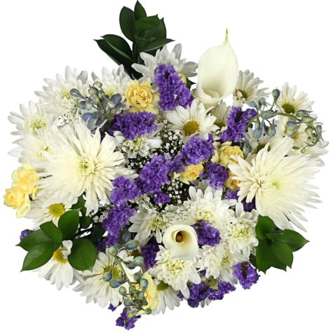 Serenity Mixed Bouquet - 7 pk.