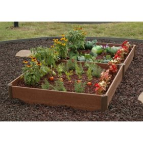 "Member's Mark 42"" x 84"" x 8"" Raised Bed Garden Kit, by Greenland Gardener"