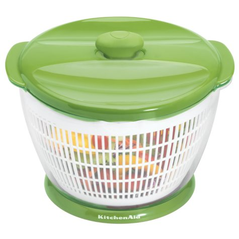 KitchenAid Salad and Fruit Spinner - Green