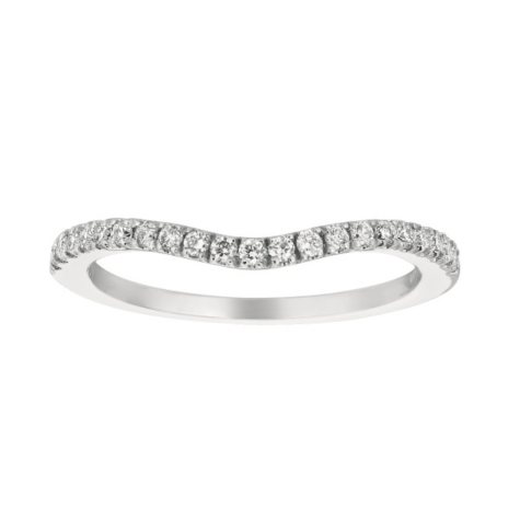 0.27 CT. T.W. Diamond Add-On Band 14K White Gold (I, I1)