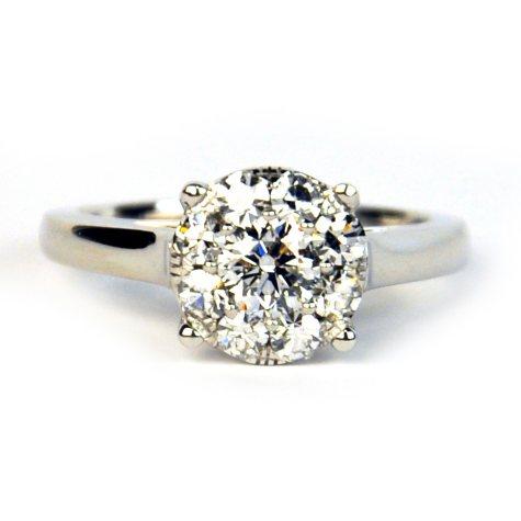 1.00 ct. t.w. Unity Diamond Ring (I, I1)