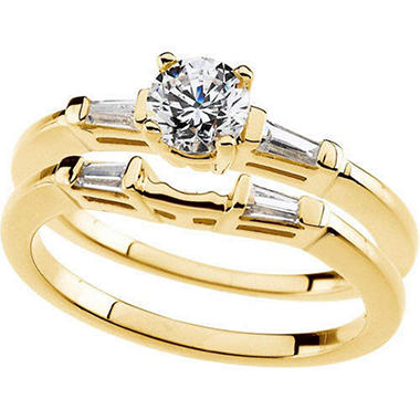 0.67 ct. t.w. Diamond Engagement Set  (I, I1)