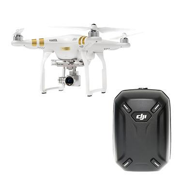DJI Phantom 3 Professional Drone with Hardshell Backpack Bundle
