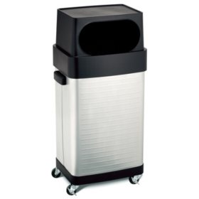 UltraHD Fingerprint Resistant Stainless Steel Trash Can - 17 gal