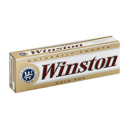Winston Gold 100s Box (20 ct., 10 pk.)